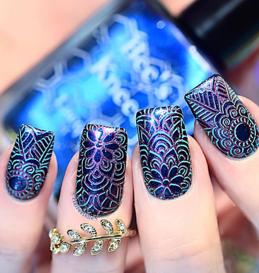 38 Chic Nail Art Design Ideas By Claire Shake That Bacon