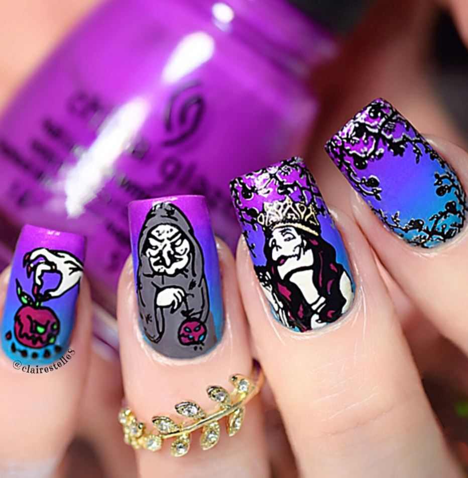 38 chic nail art design ideas by claire shake that bacon - Nail art chic ...
