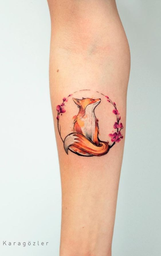 40 Marvelous Watercolor Tattoos