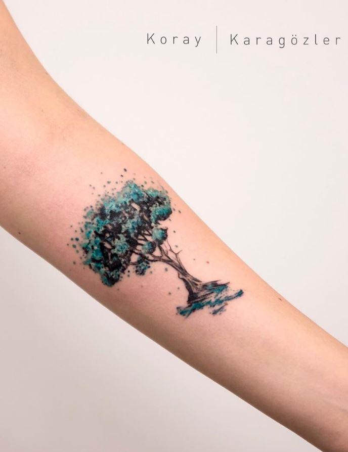 40 Marvelous Watercolor Tattoos