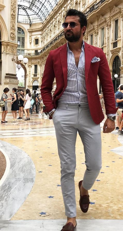 30 Hot Men's Fashion Style Outfit Ideas to Impress Your Girl
